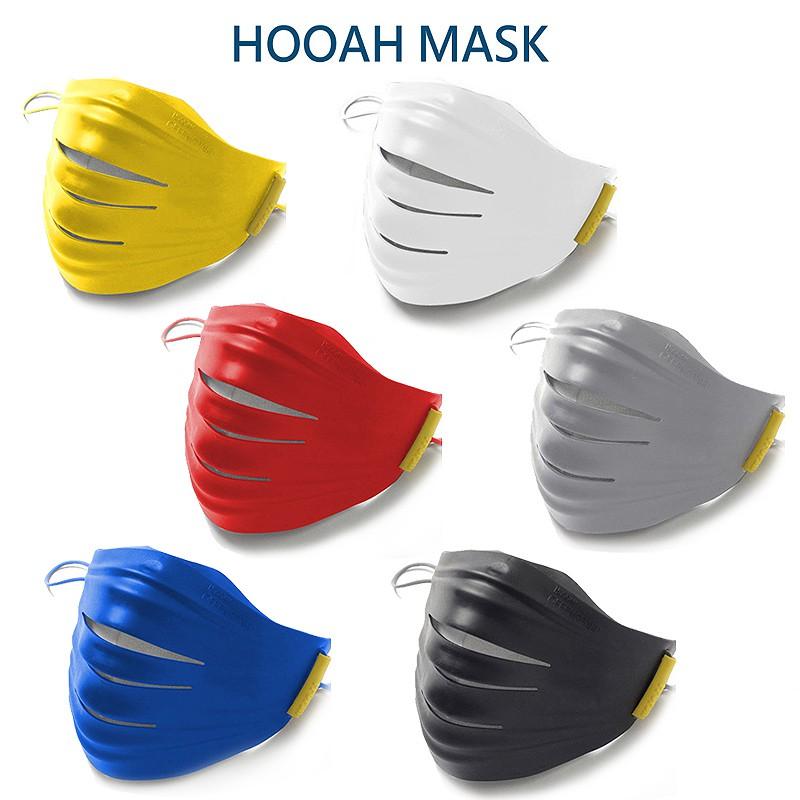 Hoooah OFNGUARD 3D 雙劍守護神3D無毒雙層防護明星時尚口罩 防護面罩+5入補充濾材 愛兒房官方商城