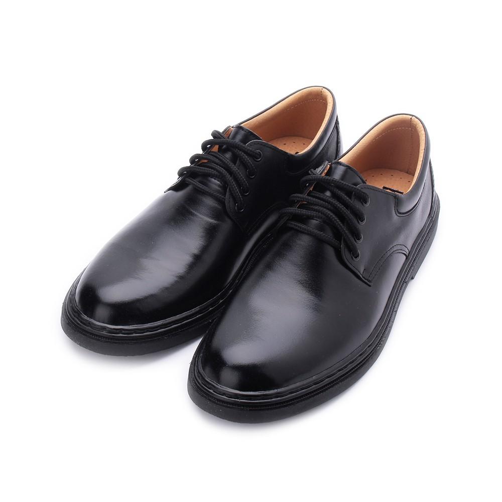 BONJO 加長楦頭學生鞋 黑 男鞋