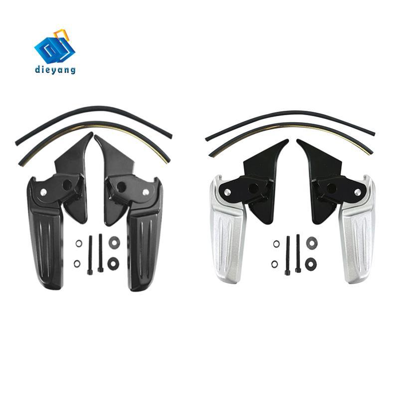 摩托車折疊踏板摩托車改裝腳踏板用於比亞喬Vespa Spring Primavera LX LXV 150 125 B