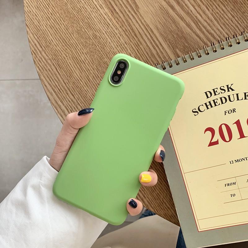 三星Galaxy S6 S6 edge外殼Matcha綠色軟超薄保護套