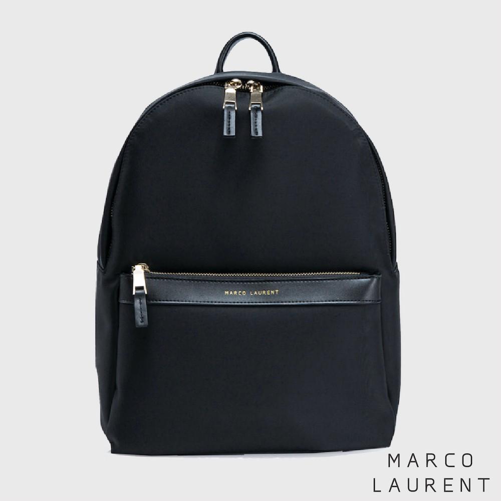 MARCO LAURENT - Lissome 輕盈尼龍後背包(大) - 黑色