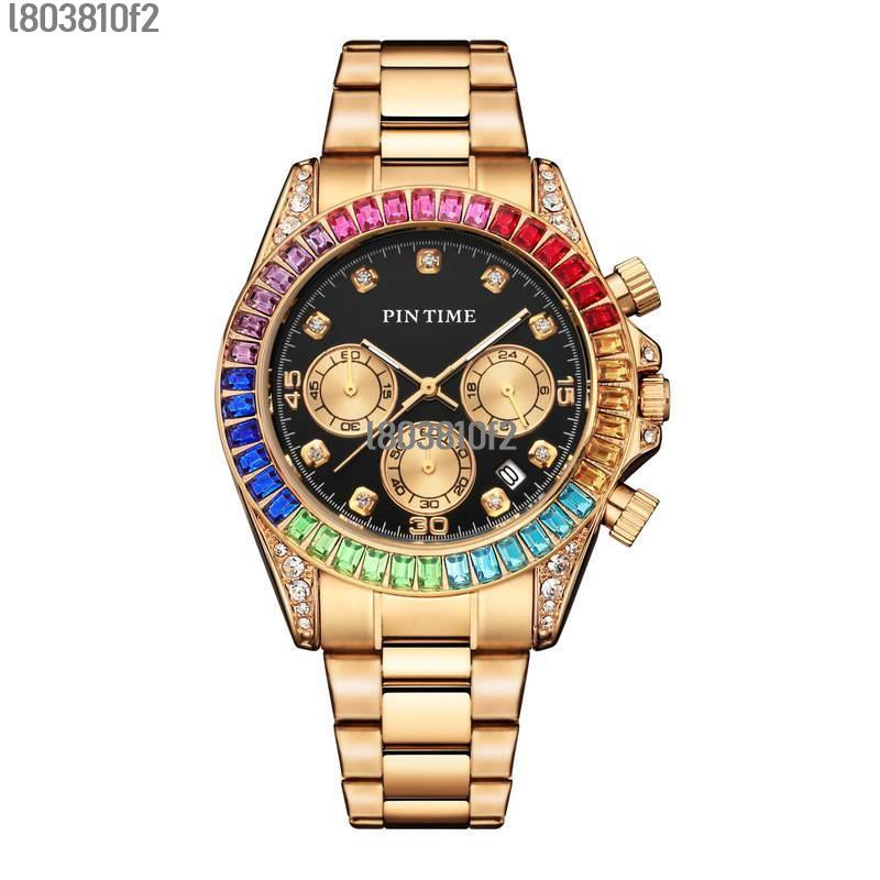 PINTIME/品時新款手錶跨境時尚鋼帶手錶男女錶支持代發廠家貨源💖艾尼