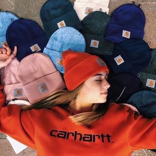 現貨Carhartt A18卡哈特經典毛線冷帽子情秋冬針織帽潮牌