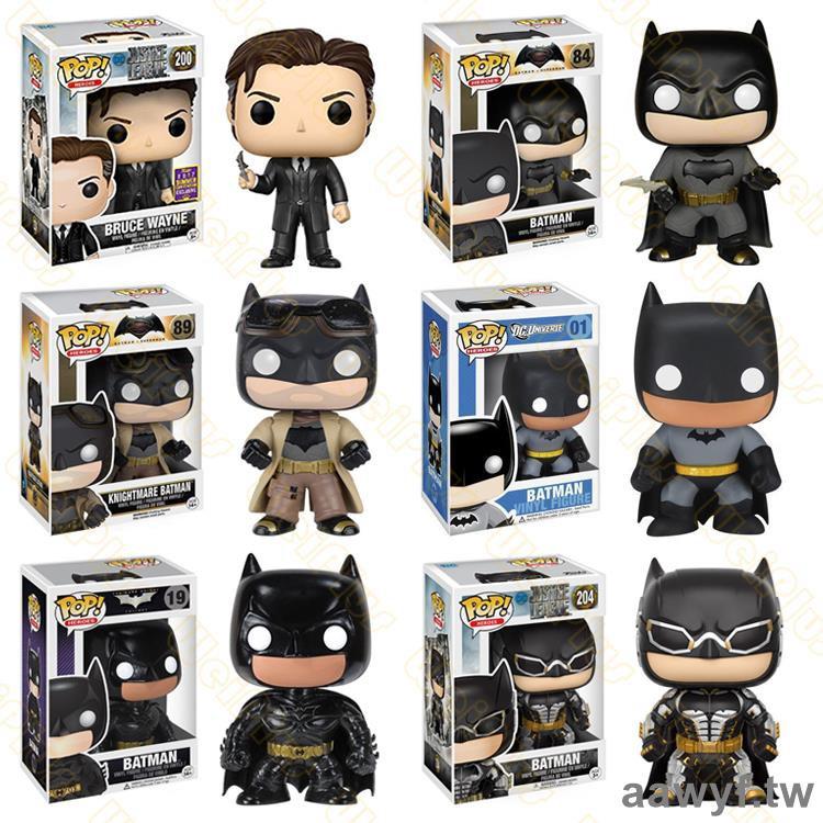 funko POP 蝙蝠俠黑暗騎士小丑正義聯盟大戰超人Batman手辦鑰匙扣