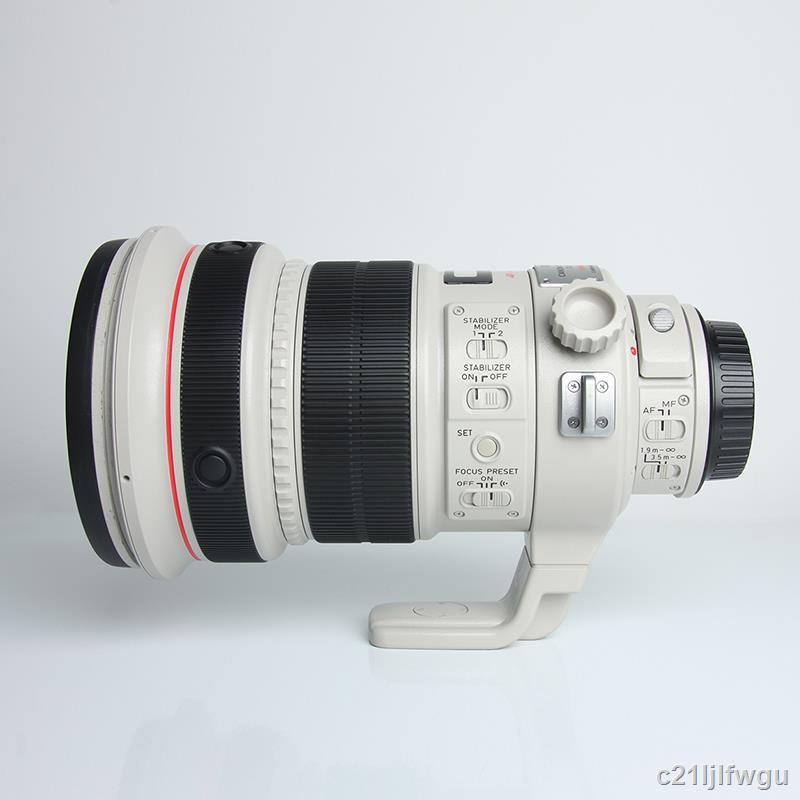 Canon佳能EF 200mm f2L IS USM空氣切割機220大光圈鏡頭200 F1.8