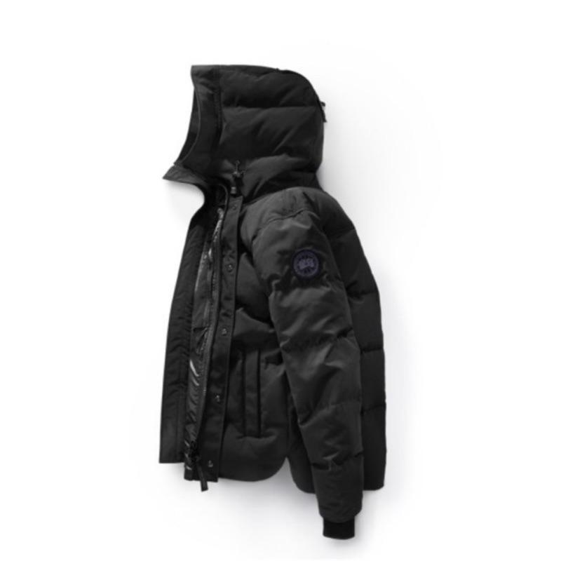 正品保真男女同款Canada goose加拿大鵝黑標MACMILLAN派克羽絨外套  共有黑色 碳灰色 迷彩 3色可選