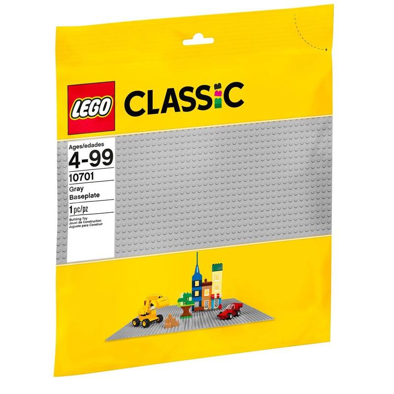 樂高LEGO CLASSIC 灰色底板 大 玩具e哥 10701