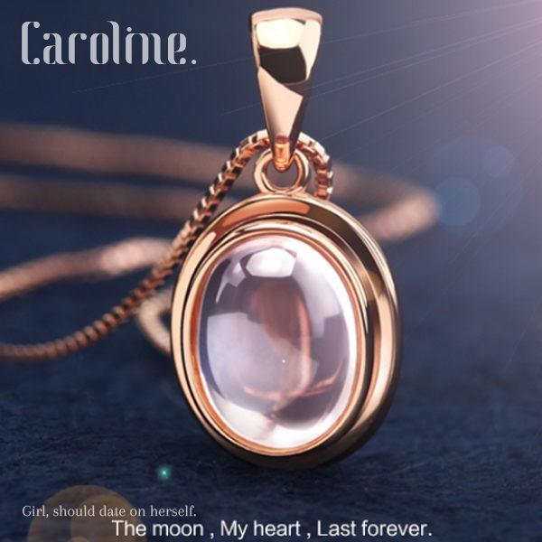 明月之心 甜美魅力高雅大方設計配飾流行時尚項鍊67895