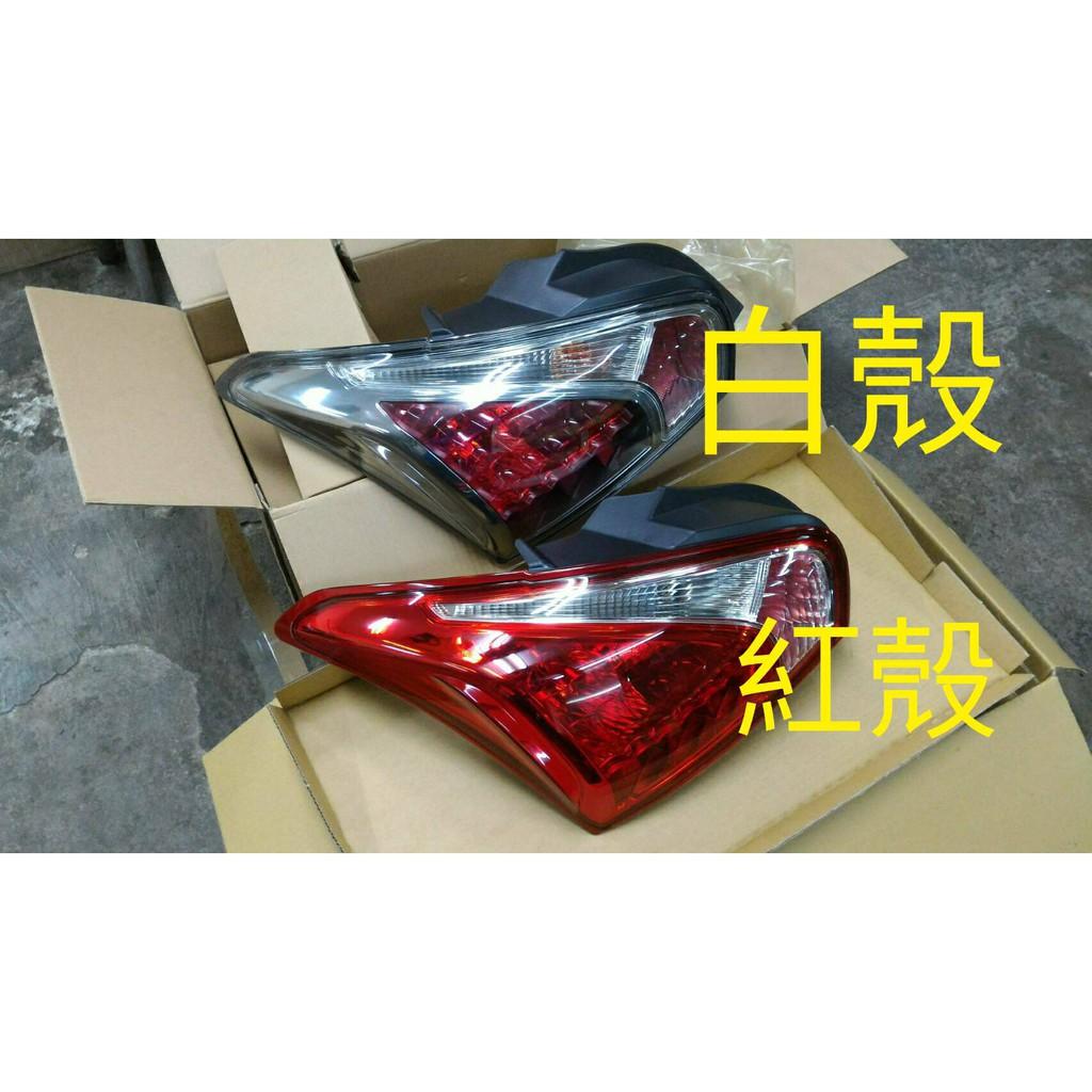 WR汽車零件~NISSAN BIG TIIDA 13-16 後燈 後尾燈(紅 白殼)