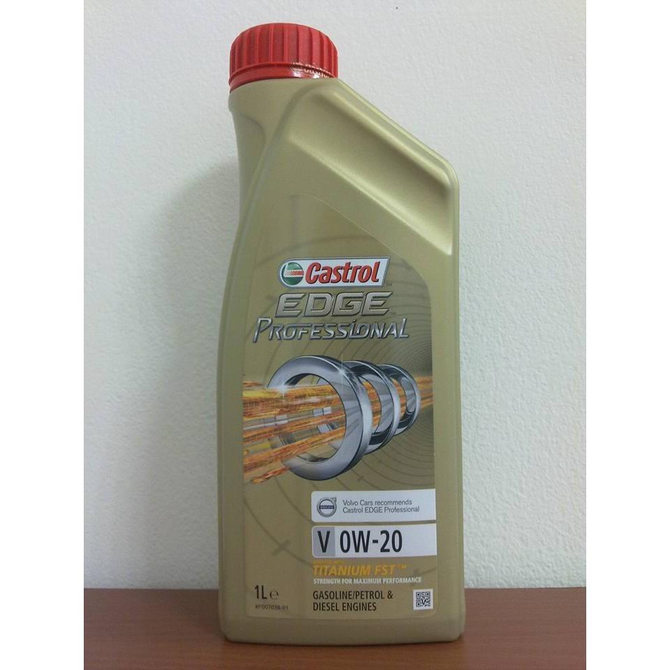〝機油便利站〞【Castrol】0W20 EDGE V 0W-20 全合成機油