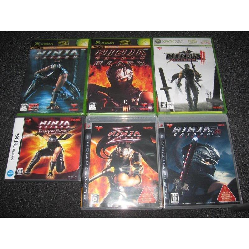 遊戲達人XBOX忍者外傳+忍者外傳 黑之章+X360忍者外傳2+PS3忍者外傳Σ+PS3忍者外傳Σ2+DS忍者外傳 龍劍