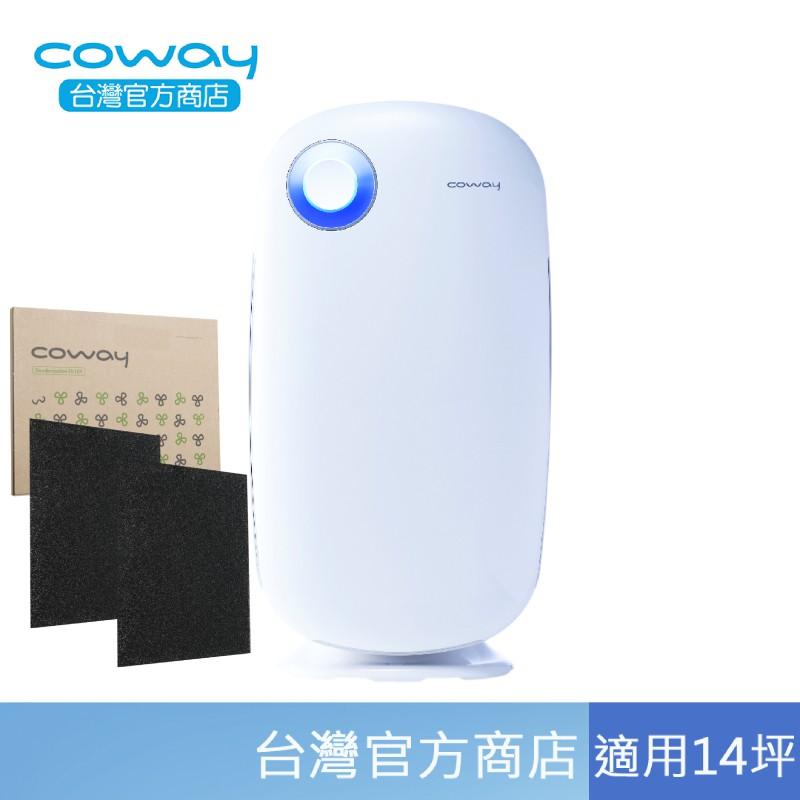 Coway AP-1009CH 加護抗敏型 空氣清淨機 14坪 經認證抑制冠狀病毒達99.99% 【加2片活性碳濾網】
