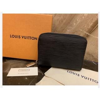 【Fra二手精品】Louis Vuitton LV M60152 黑色 EPI 水波紋 拉鍊零錢包 M60720 現貨 臺中市