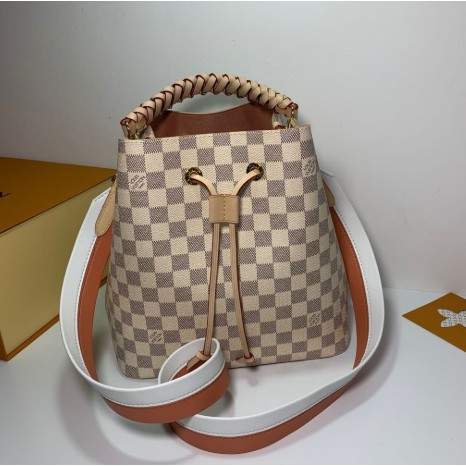 LV LOUIS VUITTON NÉONOÉ MM 棋盤格編織手提包 水桶包 N40344 現貨