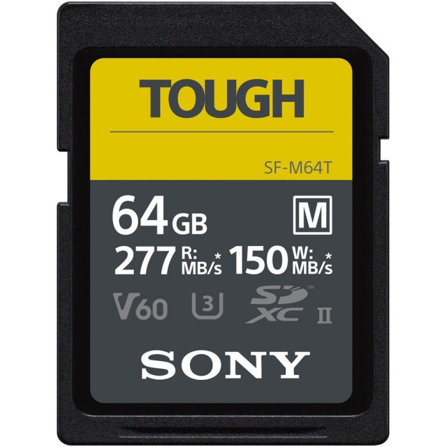 【SONY】SDXC U3 64GB 高速防水記憶卡 SF-M64T(公司貨)