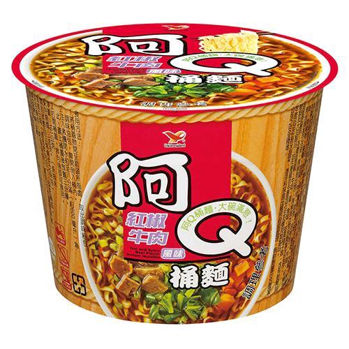 阿Q桶麵紅椒牛肉風味101Gx3桶/組【8054】