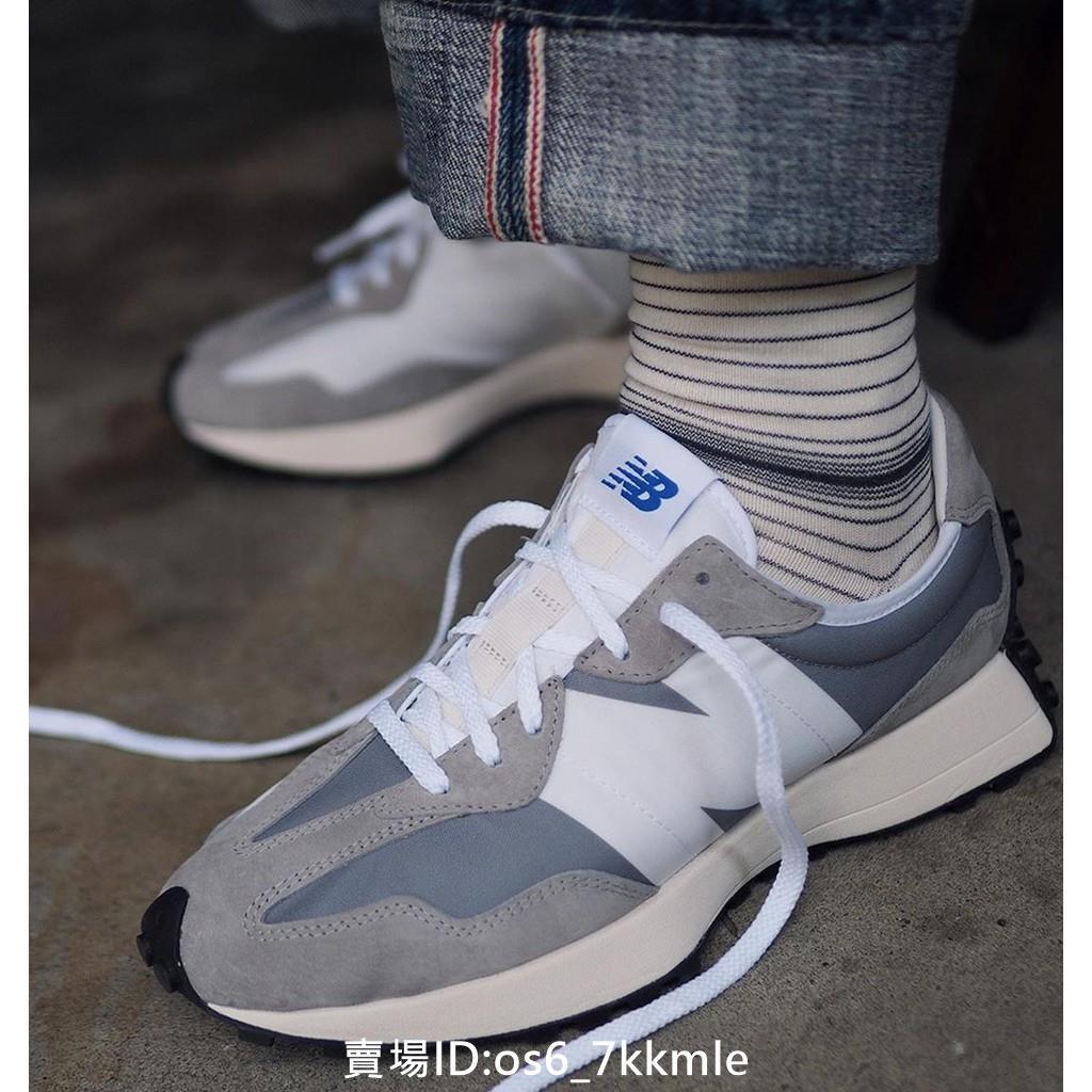 正品公司貨 New Balance NB327系列 元祖灰 灰白 男鞋 女鞋 老爹鞋 復古 運動鞋 休閒鞋 慢跑鞋