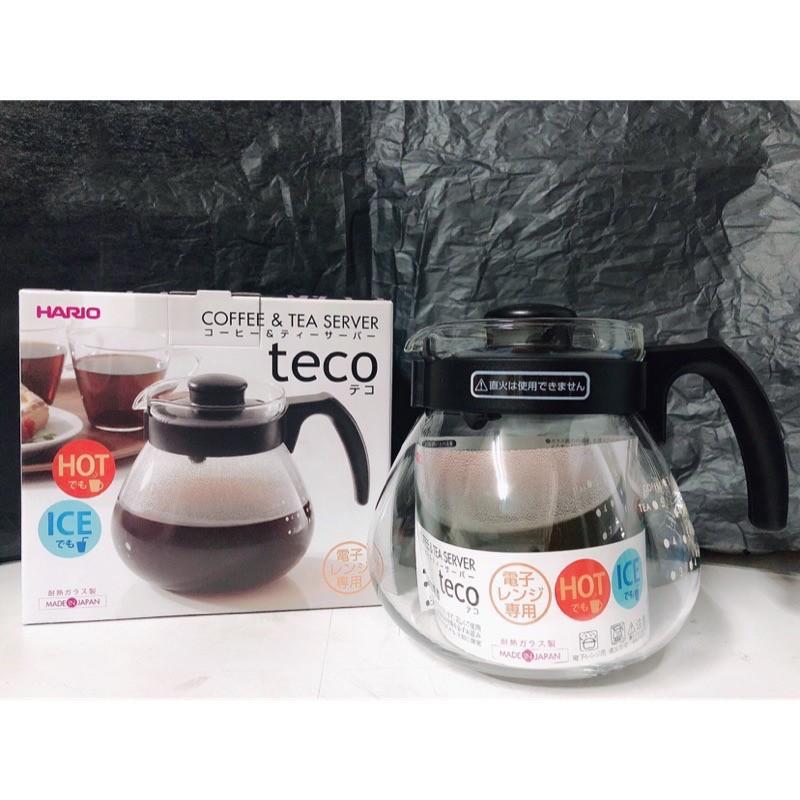 【日本 HARIO】泡茶咖啡兩用 耐熱玻璃壺1000ml