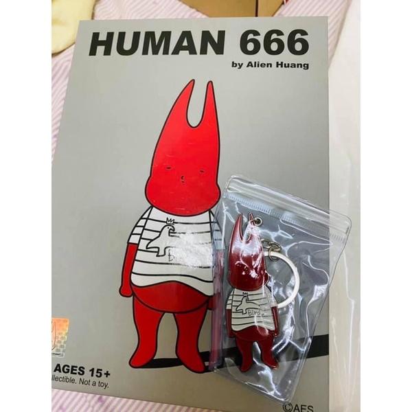 AES 小鬼 黃鴻升 HUMAN 666 公仔 現貨 (不含鑰匙圈)