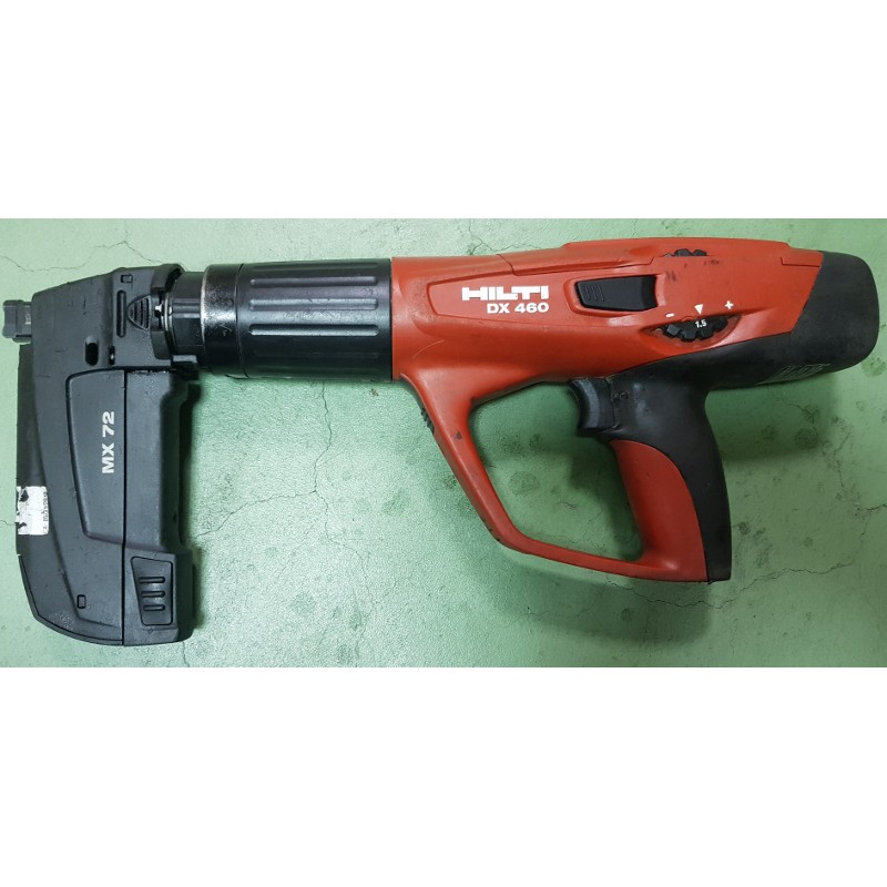 HILTI DX460喜得釘二手外滙連發擊釘槍