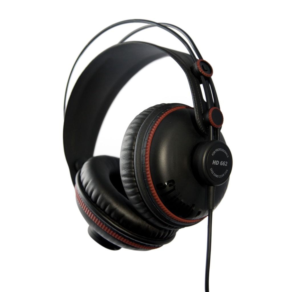 【全館折300】送原廠袋轉接頭 Superlux HD662 監聽耳機 耳罩式耳機 封閉式專業監聽級耳機 舒伯樂 黑