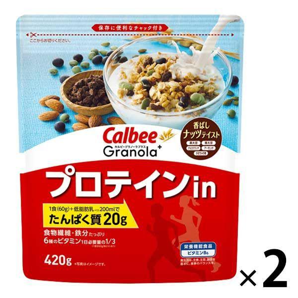 卡樂比Calbee 高蛋白燕麥酥脆榖 2入裝 P692173