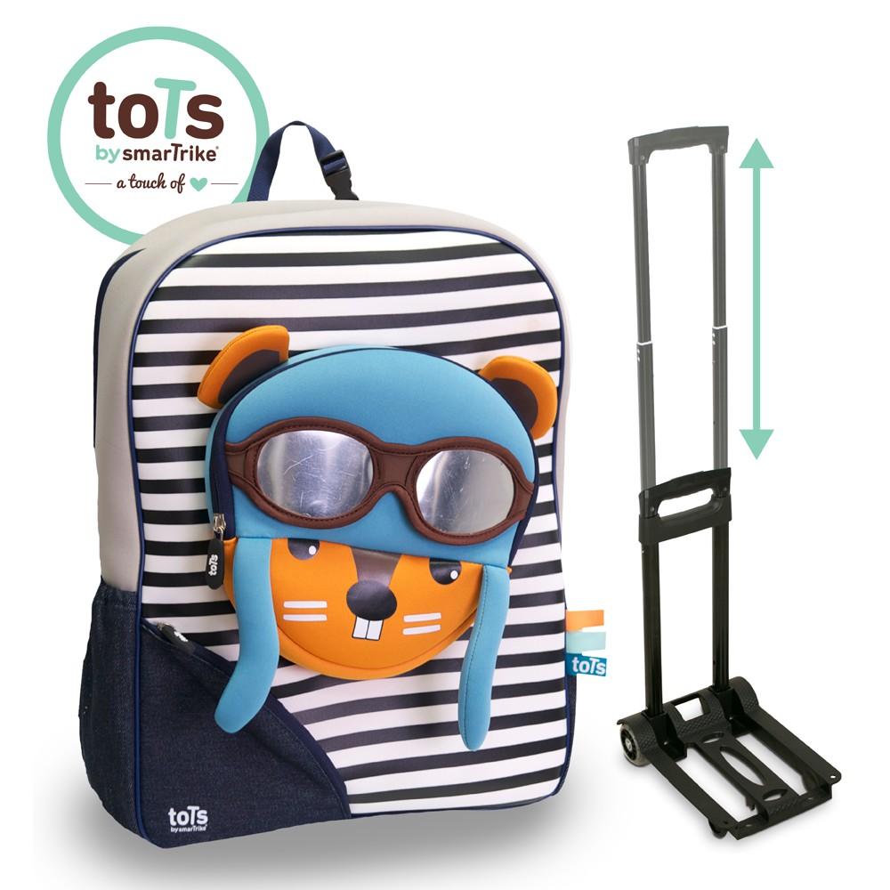 全新品下殺 [獨家]英國smarTrike-Tots 2in 1行李後背包+提提包 輕旅行買這組
