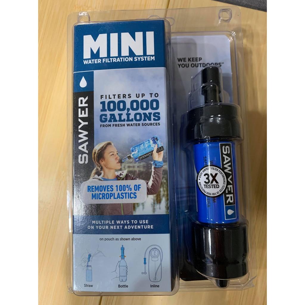 Sawyer Mini Water Filtration System 戶外輕便小型濾水器