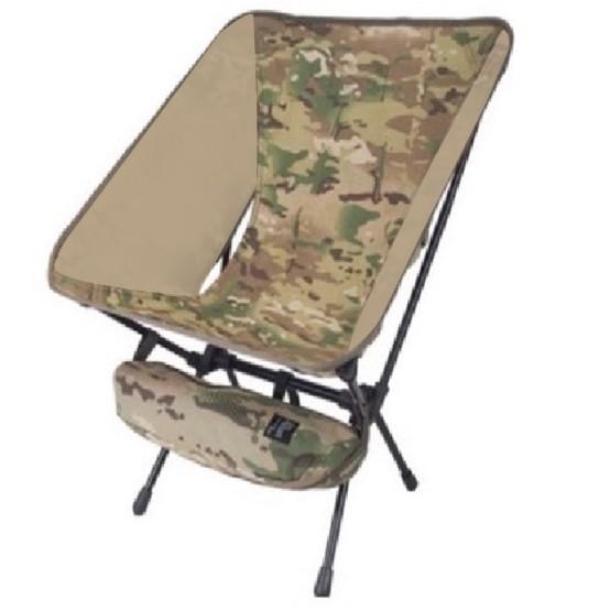 Camping bar 戰術椅 CP多地形混色迷彩 戰術月亮露營椅大川椅 折疊椅 露營椅 導演椅 2004090259
