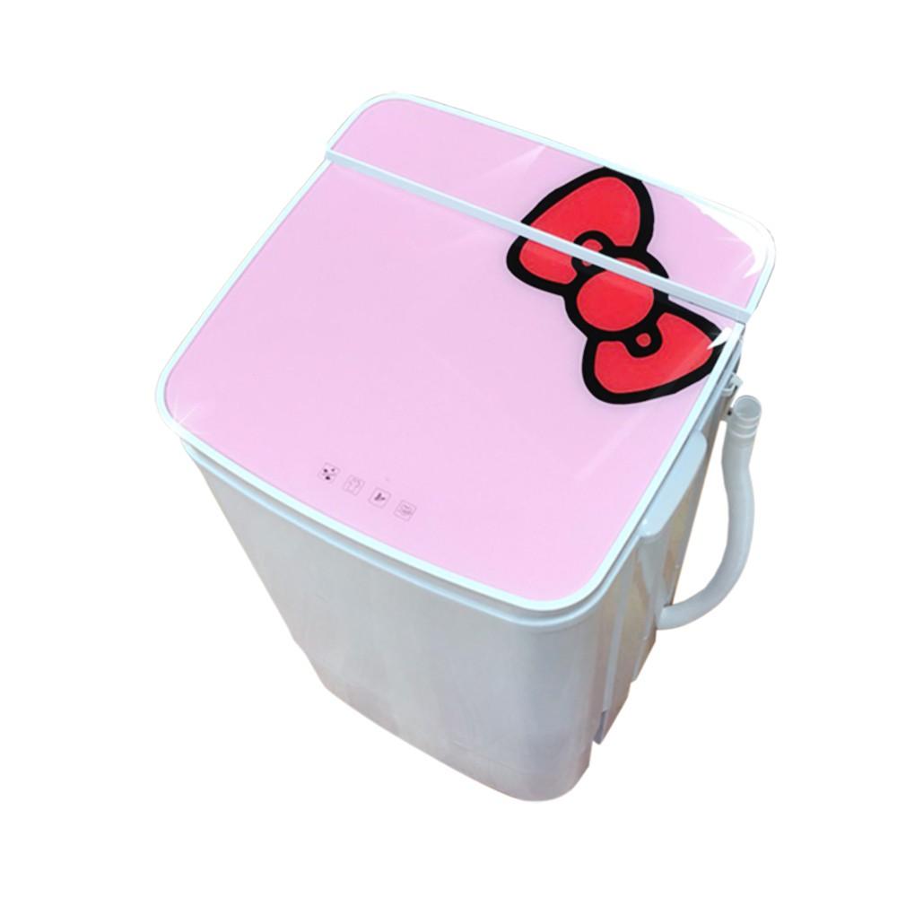 EDISON愛迪生超會洗二合一單槽5.8公斤洗衣脫水機粉紅-福利品