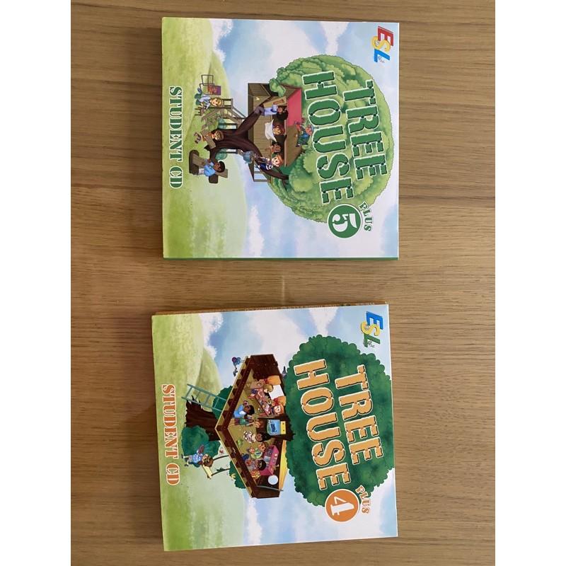 何嘉仁ESL  Tree House 4&5 Student  CD 學生CD 二手 近全新
