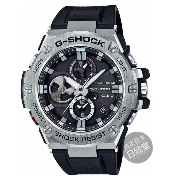 日本代購 卡西歐GSteel光動能手錶男錶GST-B100/B100D/B100XA