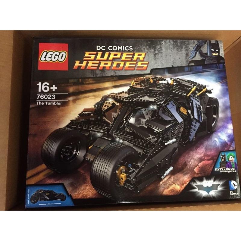 全新 絕版品 樂高 LEGO 76023 The Tumbler 正義聯盟 蝙蝠車 76139 76161