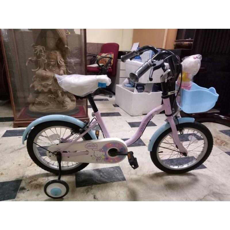 16吋正版Hello Kitty凱蒂貓兒童腳踏車特價3880