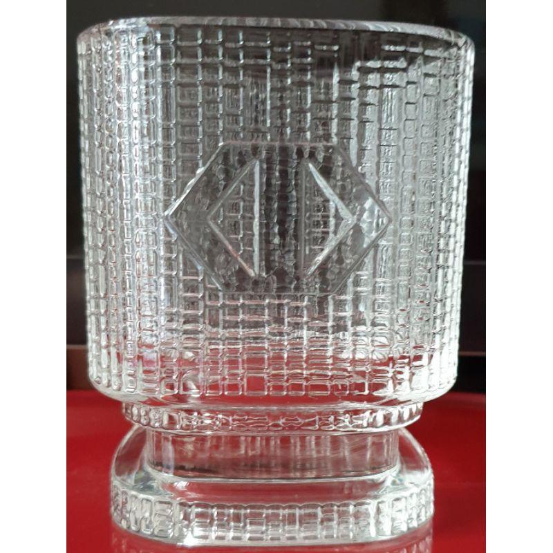 兩極食器精品杯(臺灣中小企業銀行股東會紀念品)玻璃杯
