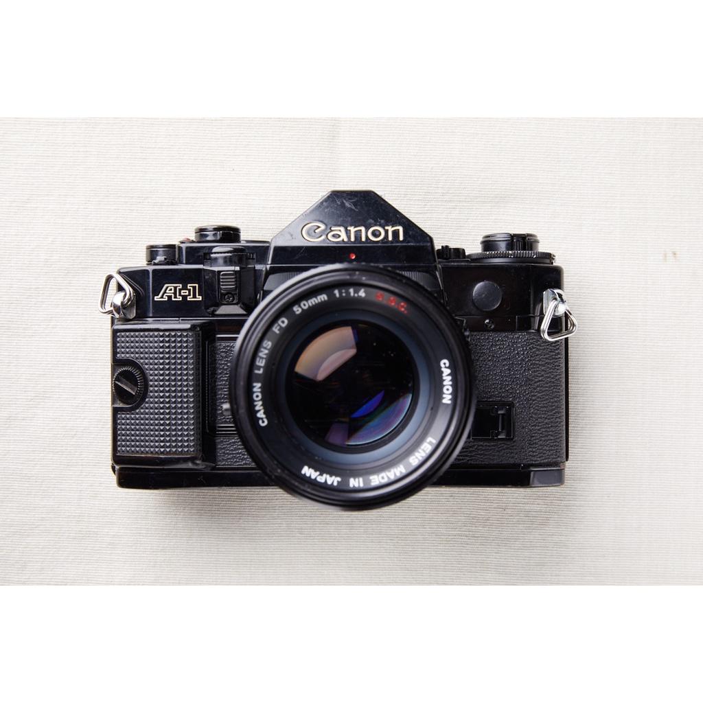 【森寫真機店】Canon A1 #668 + FD 50mm f1.4 s.s.c
