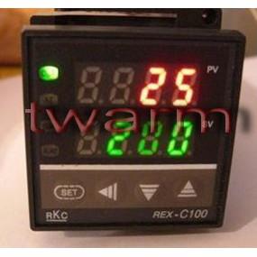 TW10465/RKC REX-C100/XMTG-4811隨機出貨 溫控器(AC/DC24V) SSR輸出、繼電器輸出