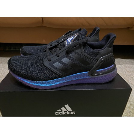 "Adidas Ultraboost 20 ""Space Race"" 黑 藍 宇宙 EG1341"