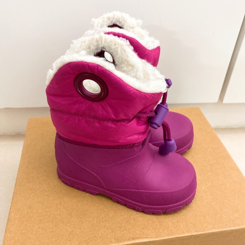 二手~迪卡儂超保暖防滑雪靴~也可當雨鞋