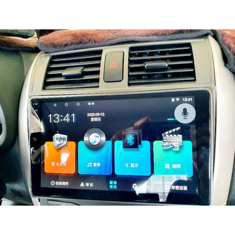 銳訓汽車 台南麻豆 JHY ALTIS 10.5代 音響主機 安卓 10吋 R73 2G+32G 8核心 介面分割