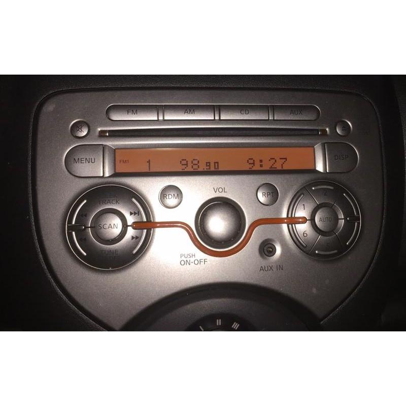 NISSAN NEW MARCH 中古二手 CD 音響主機