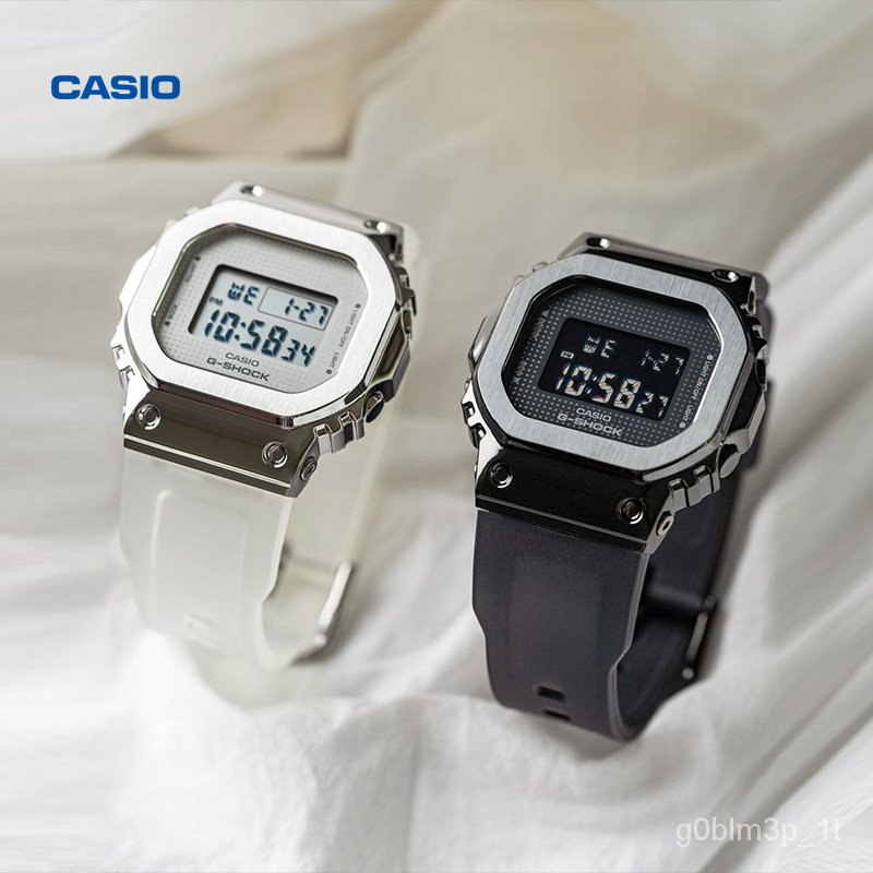 casio旗艦店GM-S5600系列女錶SMFK同款卡西歐手錶官網正品G-SHOCK 9UVs