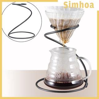 [SIMHOA] 家用廚房廚房ACC的鐵咖啡過濾器架儲備杯咖啡杯架