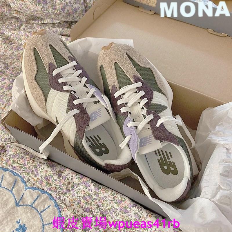 newbalance327nb327NewBalance327紫綠WS327COB復古休閒鞋