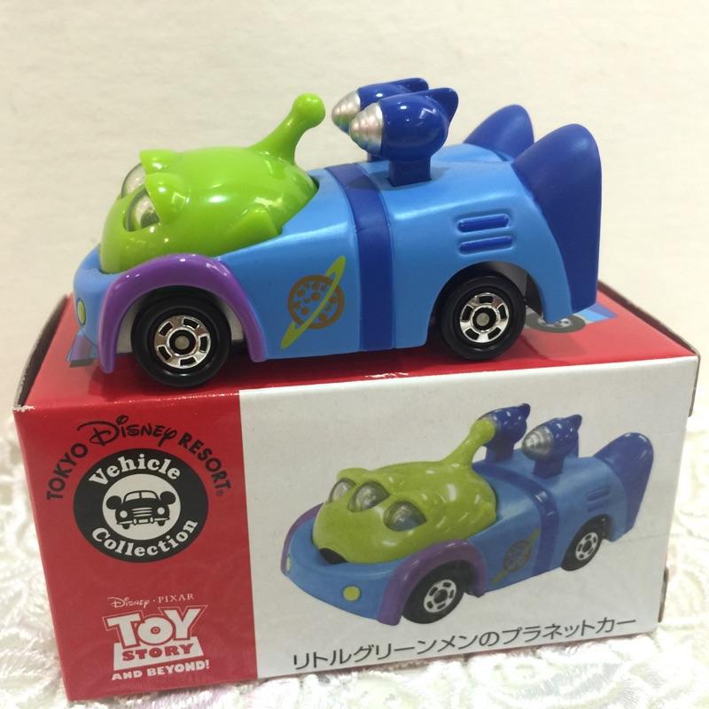 日本 東京迪士尼樂園 Tomica Tomy 多美小汽車 玩具總動員 三眼怪 多美卡 跑車 汽車 車 火箭