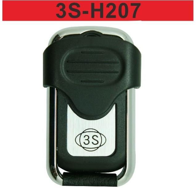 {遙控達人}3S-H207 遙控器拷貝 固定碼 學習碼 滾動碼 車庫門 鐵捲門 車道