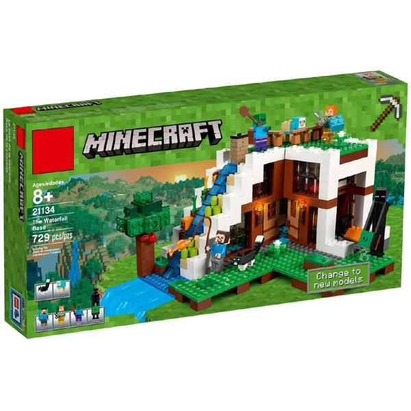 PP小辣椒💕兼容樂高 BELA博樂10624我的世界18028益智互動拼裝拼插小顆粒積木玩具 LEGO 21134