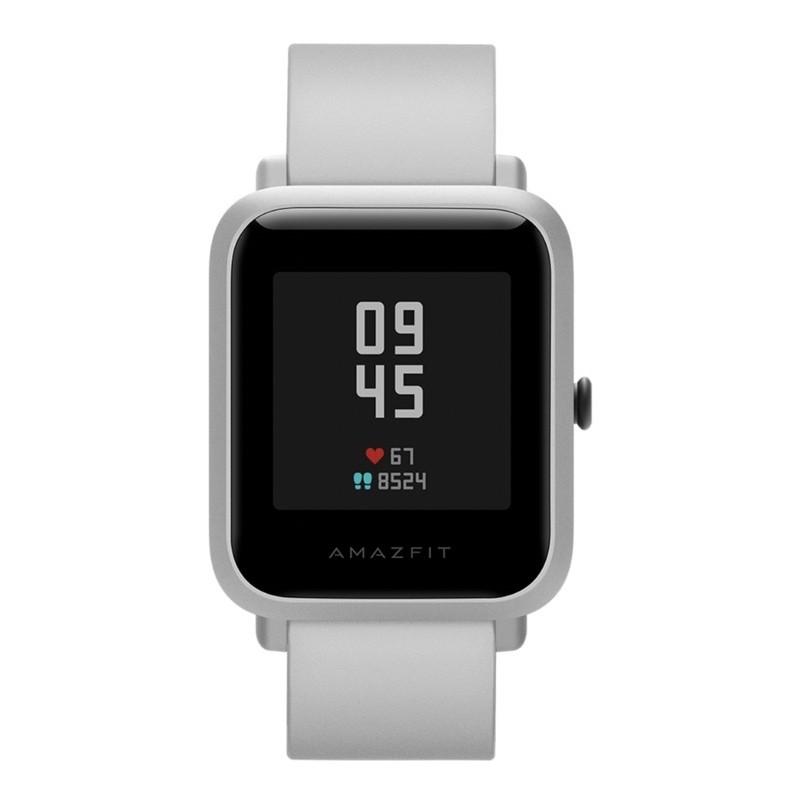 二手 九成新Amazfit 華米台灣 米白色 米動手錶青春版Lite 智能運動心率智慧手錶