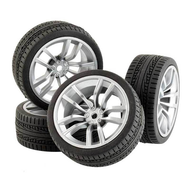 1:10 RC遙控車競速輪胎64mm 94123田宮TT01京商FW06房車通用平跑輪胎