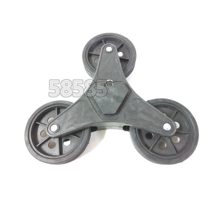 [奇寧寶XP館] 330005-Z1 三輪購物車替換輪(3輪*2入) / 360度 購物 爬梯車 附座椅 翻滾輪 手推車